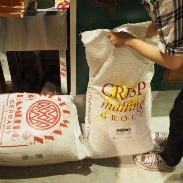 英国の製麦メーカー、クリスプ社のペールモルト